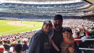Joshua attended Minnesota Twins vs. Detroit Tigers - MLB on Apr 22nd 2017 via VetTix