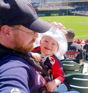Kristin attended Minnesota Twins vs. Detroit Tigers - MLB on Apr 22nd 2017 via VetTix