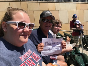 Alan attended Minnesota Twins vs. Boston Red Sox - MLB on May 6th 2017 via VetTix