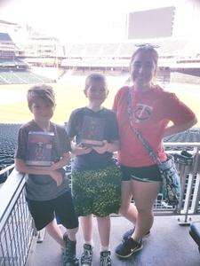 Nicholas attended Minnesota Twins vs. Boston Red Sox - MLB on May 6th 2017 via VetTix