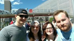 Thomas attended Minnesota Twins vs. Boston Red Sox - MLB on May 6th 2017 via VetTix