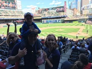Chris attended Minnesota Twins vs. Boston Red Sox - MLB on May 6th 2017 via VetTix