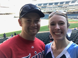 Steven attended Minnesota Twins vs. Tampa Bay Rays - MLB on May 26th 2017 via VetTix