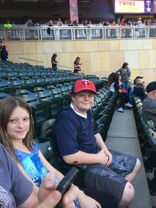 Christopher attended Minnesota Twins vs. Tampa Bay Rays - MLB on May 26th 2017 via VetTix