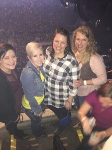 Amanda attended Blake Shelton - Doing It to Country Songs Tour - Centurylink Center Omaha on Mar 18th 2017 via VetTix