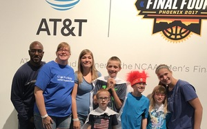 Kevin attended 2017 Final Four Fan Fest Presented by Capital One - Good for Any One Day on Mar 31st 2017 via VetTix