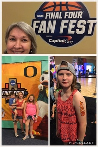 Sandy attended 2017 Final Four Fan Fest Presented by Capital One - Good for Any One Day on Mar 31st 2017 via VetTix