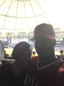 Amin attended Tampa Bay Rays vs. Cleveland Indians - MLB on Aug 10th 2017 via VetTix