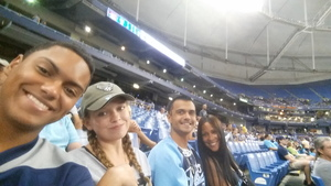 Ruth attended Tampa Bay Rays vs. Cleveland Indians - MLB on Aug 10th 2017 via VetTix