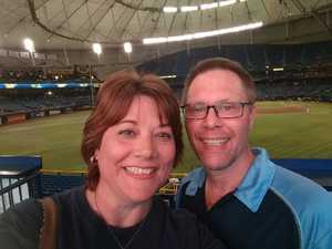 Tom in St Pete attended Tampa Bay Rays vs. Cleveland Indians - MLB on Aug 10th 2017 via VetTix