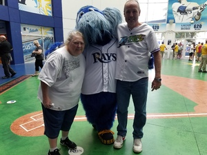 John Meyer attended Tampa Bay Rays vs. Cleveland Indians - MLB on Aug 10th 2017 via VetTix