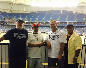 JOSE attended Tampa Bay Rays vs. Cleveland Indians - MLB on Aug 10th 2017 via VetTix
