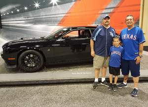 Cliff attended 2017 New Mexico International Auto Show on Apr 21st 2017 via VetTix