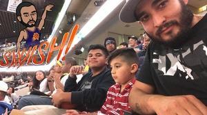 Cezar attended Phoenix Suns vs. Los Angeles Clippers - NBA on Mar 30th 2017 via VetTix