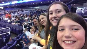 Jason W Family attended Phoenix Suns vs. Los Angeles Clippers - NBA on Mar 30th 2017 via VetTix