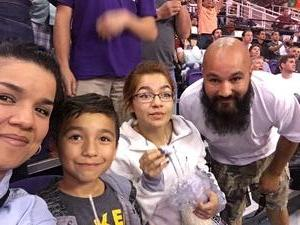 George attended Phoenix Suns vs. Los Angeles Clippers - NBA on Mar 30th 2017 via VetTix