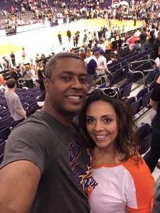 samuel attended Phoenix Suns vs. Los Angeles Clippers - NBA on Mar 30th 2017 via VetTix