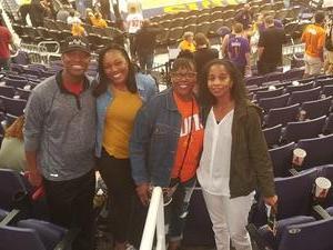 Austyn attended Phoenix Suns vs. Los Angeles Clippers - NBA on Mar 30th 2017 via VetTix