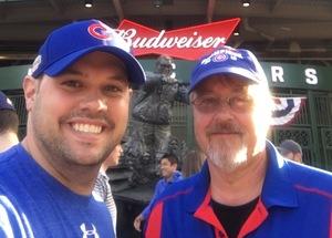 Scott attended Chicago Cubs vs. Milwaukee Brewers - MLB on Apr 18th 2017 via VetTix