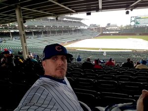 David attended Chicago Cubs vs. Milwaukee Brewers - MLB on Apr 19th 2017 via VetTix
