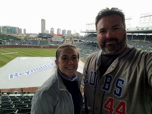 Katie attended Chicago Cubs vs. Milwaukee Brewers - MLB on Apr 19th 2017 via VetTix
