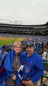 Charles attended Chicago Cubs vs. Milwaukee Brewers - MLB on Apr 19th 2017 via VetTix