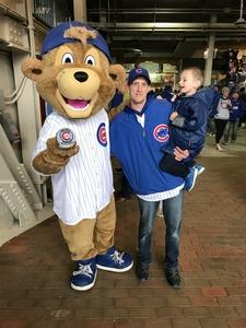 Chris attended Chicago Cubs vs. Milwaukee Brewers - MLB on Apr 19th 2017 via VetTix
