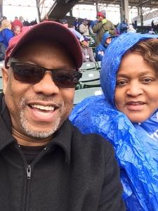pres attended Chicago Cubs vs. Milwaukee Brewers - MLB on Apr 19th 2017 via VetTix
