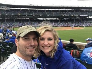 Chad attended Chicago Cubs vs. Milwaukee Brewers - MLB on Apr 19th 2017 via VetTix
