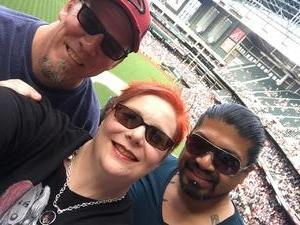 Christina attended Arizona Diamondbacks vs. Cleveland Indians - MLB on Apr 9th 2017 via VetTix