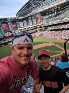 Patrick attended Arizona Diamondbacks vs. Cleveland Indians - MLB on Apr 9th 2017 via VetTix