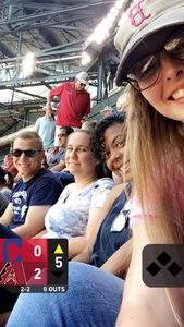 Megan attended Arizona Diamondbacks vs. Cleveland Indians - MLB on Apr 9th 2017 via VetTix