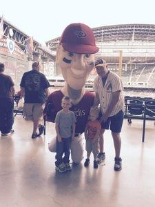 Edmund attended Arizona Diamondbacks vs. Cleveland Indians - MLB on Apr 9th 2017 via VetTix