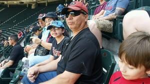 Efrain attended Arizona Diamondbacks vs. Cleveland Indians - MLB on Apr 9th 2017 via VetTix