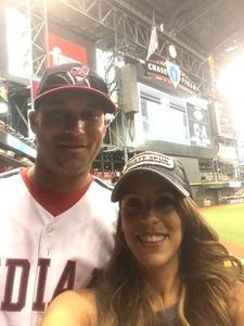 Michael attended Arizona Diamondbacks vs. Cleveland Indians - MLB on Apr 7th 2017 via VetTix