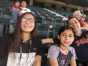 Jorge attended Arizona Diamondbacks vs. Cleveland Indians - MLB on Apr 7th 2017 via VetTix