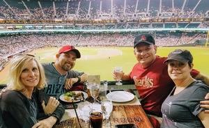 Kip attended Arizona Diamondbacks vs. Cleveland Indians - MLB on Apr 7th 2017 via VetTix