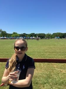 Chris attended 3rd Annual Fiesta Cup - Polo Match - Official Fiesta Event - Presented by the San Antonio Polo Club on Apr 23rd 2017 via VetTix
