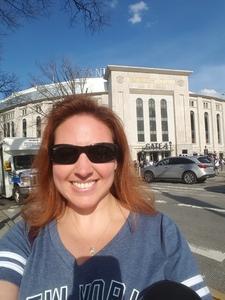 Megan attended New York Yankees vs. Chicago White Sox - MLB on Apr 18th 2017 via VetTix