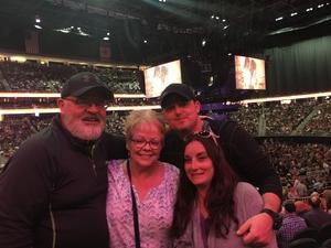 Frank attended George Strait - Strait to Vegas With Special Guest Cam - Friday on Apr 7th 2017 via VetTix