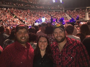 derek attended George Strait - Strait to Vegas With Special Guest Cam - Saturday on Apr 8th 2017 via VetTix