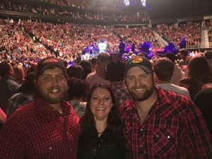 Andrew attended George Strait - Strait to Vegas With Special Guest Cam - Saturday on Apr 8th 2017 via VetTix