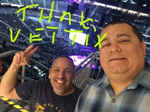 Martin attended George Strait - Strait to Vegas With Special Guest Cam - Saturday on Apr 8th 2017 via VetTix