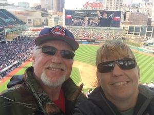 Julie attended Cleveland Indians vs. Detroit Tigers - MLB on Apr 16th 2017 via VetTix