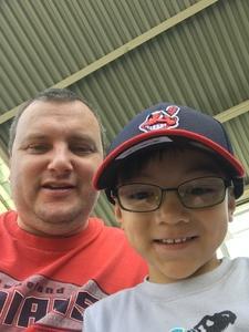 Brandon attended Cleveland Indians vs. Seattle Mariners - MLB on Apr 30th 2017 via VetTix
