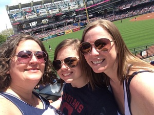 Holly attended Cleveland Indians vs. Seattle Mariners - MLB on Apr 30th 2017 via VetTix