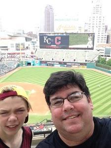 Jeffrey attended Cleveland Indians vs. Kansas City Royals - MLB on May 28th 2017 via VetTix