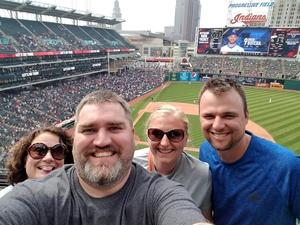 Adam attended Cleveland Indians vs. Kansas City Royals - MLB on May 28th 2017 via VetTix