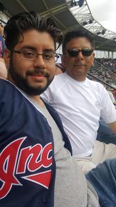 Bernard attended Cleveland Indians vs. Kansas City Royals - MLB on May 28th 2017 via VetTix
