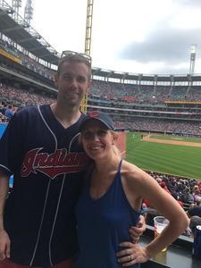 Jonathan attended Cleveland Indians vs. Kansas City Royals - MLB on May 28th 2017 via VetTix